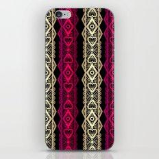 Luxury lace print iPhone & iPod Skin