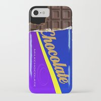 chocolate iPhone & iPod Cases featuring Chocolate by Nicklas Gustafsson
