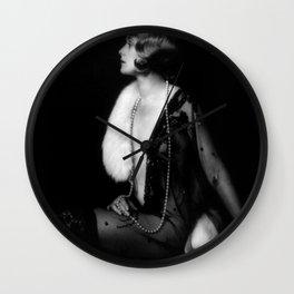 Ziegfeld Girl Muriel Finlay Alfred Cheney Johnston Wall Clock