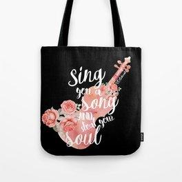 This Savage Song Tote Bag