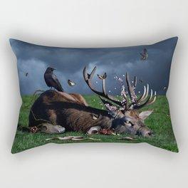 God of Death Rectangular Pillow