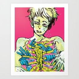 take a chill pill Art Print
