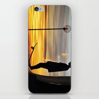 peter pan iPhone & iPod Skins featuring Peter Pan by Marco Ferraro