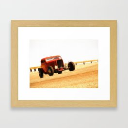 "Deuce Coupe 16,5"" x 11,8"" Framed Art Print"
