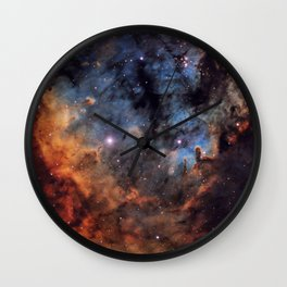 The Devil Nebula Wall Clock