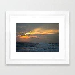 Seaside Sunrise Framed Art Print