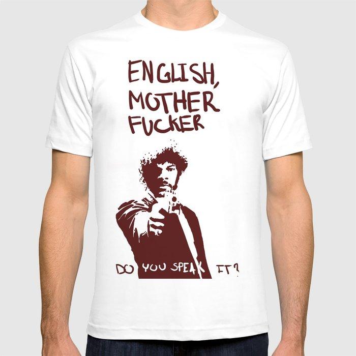2cb3d4ace25 Pulp Fiction Samuel L Jackson English Motherfucker Do You Speak It  T-shirt  by cclworks