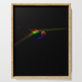 Super Moon Rainbow Serving Tray