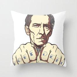MOFF DEFF Throw Pillow
