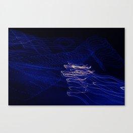 Light Waves Canvas Print