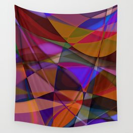 Abstract #376 Wall Tapestry