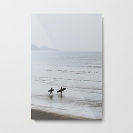 let's surf v Metal Print