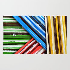 Striped Planes Rug