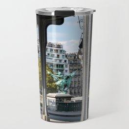 Pont de Bir-Hakeim in Paris Travel Mug
