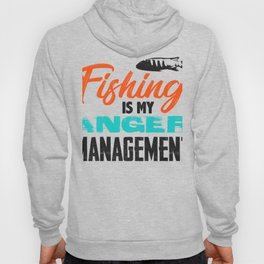 Fishing is my anger management 1 (2) Hoody