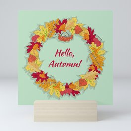 Hello, Autumn! Mini Art Print