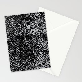 Snake Quiet Grey Stationery Cards