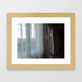 View from L'Auberge Framed Art Print
