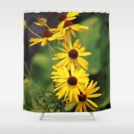 Black Eyed Beauties Shower Curtain