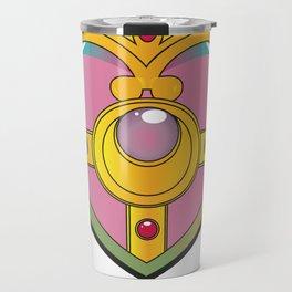 Neon Heart Pendant Travel Mug