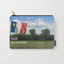 Acadie terre de nos racines ! Carry-All Pouch