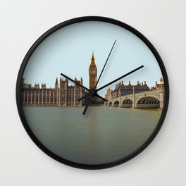 London, England Travel Artwork Wall Clock