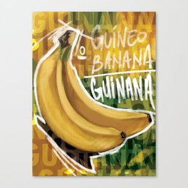 How do you say banana in...? Canvas Print
