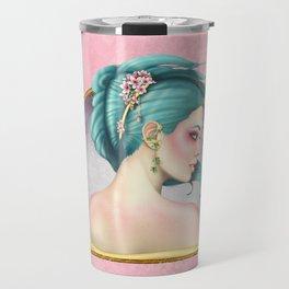 A Floral Affair Travel Mug