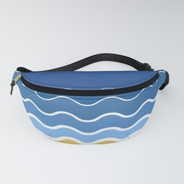 Minimal Beach Fanny Pack