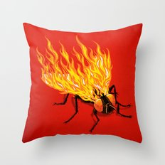 The Firefly Throw Pillow