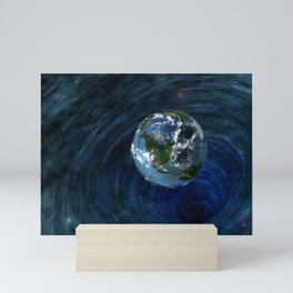 Earth Is In Trouble Mini Art Print
