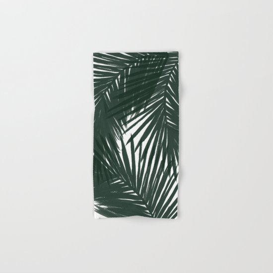 Palms Green Hand & Bath Towel