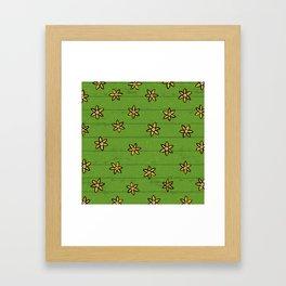 zuhur green Framed Art Print