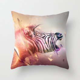 The Transmission Throw Pillow