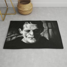 THE MONSTER of FRANKENSTEIN - Boris Karloff Rug