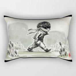 Horace, quietly wandering Rectangular Pillow