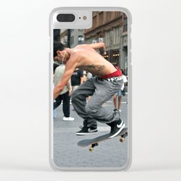 Unknown Faces In Different Places (Pt 10 - NYC, NY) Clear iPhone Case
