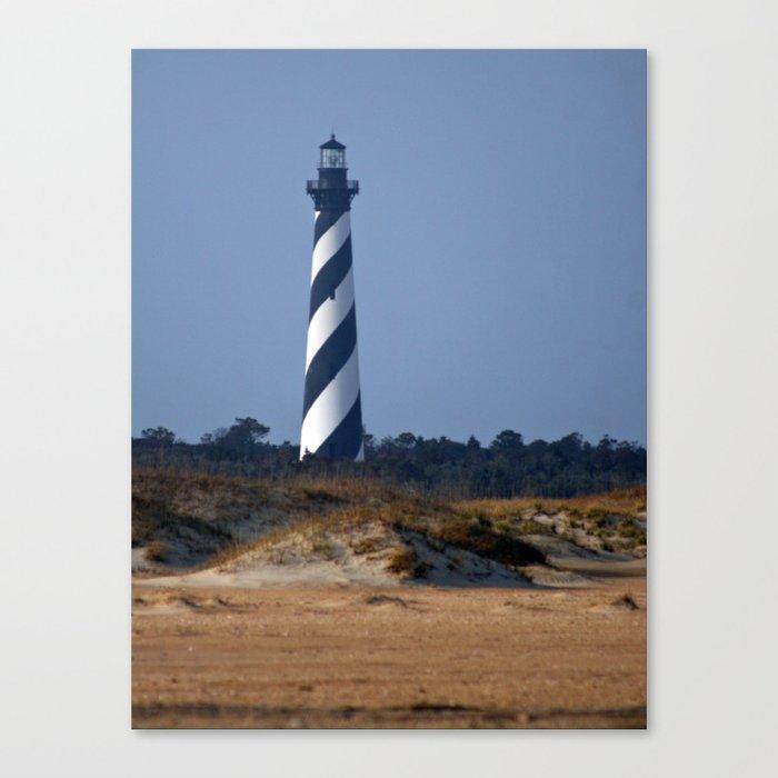 Cape Hatteras Lighthouse Photograph Canvas Print