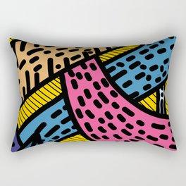 The Safe Jungle Rectangular Pillow