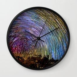 Radial Velocity Wall Clock