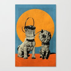 Cats&Dogs Canvas Print