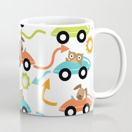 Critter Cars Coffee Mug