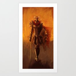 From The Flames Art Print