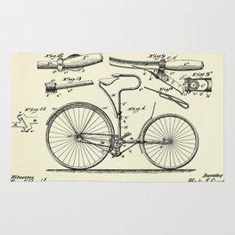 Velocipede-1890 Rug