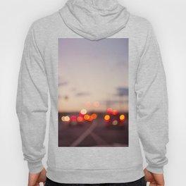 highway at dusk Hoody