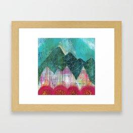 Mountain Winter Solstice Framed Art Print