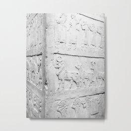 White History Metal Print