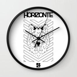HORIZONTE WOLF Wall Clock