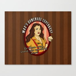 Max's Homemade Cupcakes! Canvas Print