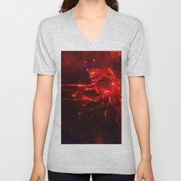 Fire dragon Unisex V-Neck
